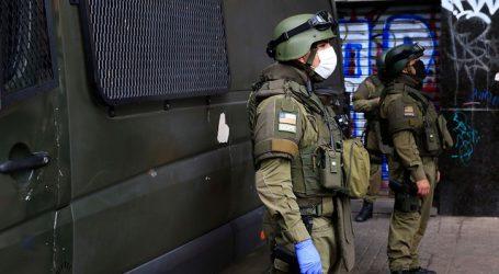 Despliegan operativo por artefacto sospechoso al interior de bus en San Miguel