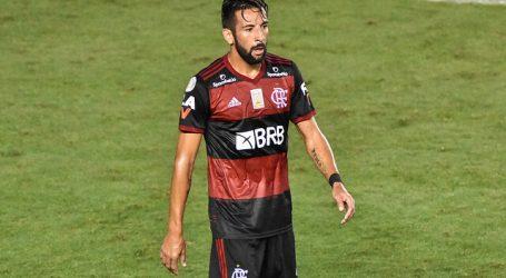 Brasil: Mauricio Isla dijo presente en derrota del Flamengo ante Ceará