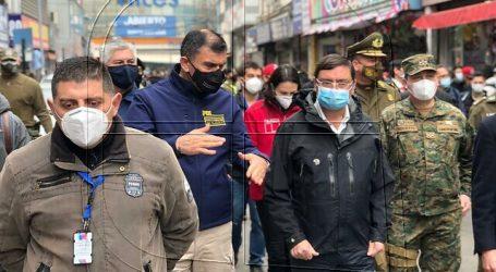 """Autoridades verificaron en terreno el desarrollo de la """"Operación Meiggs"""""""