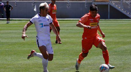 Primera B: Cobreloa perdió ante Santa Cruz y no pudo presionar al líder Ñublense