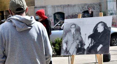 """""""Allende en la Memoria"""": Exposición fotográfica se presentó en plaza de Valdivia"""