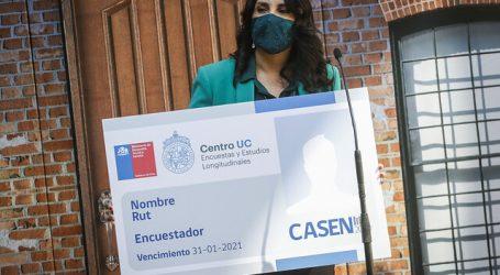 Con la fase de pre contacto se dio inicio a la encuesta Casen en Pandemia 2020