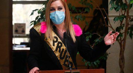 Diputada Jiles fue la figura central en franja del Apruebo de Partido Humanista