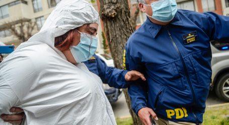Prisión preventiva para Denisse Llanos por el delito de parricidio consumado