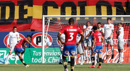 Unión Española fue de menos a más para superar a la 'U' en el Santa Laura