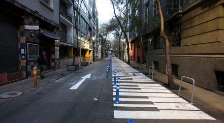Inauguran intervención de Mosqueto como calle semipeatonal