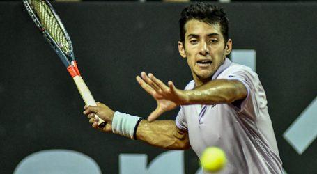 Tenis: Cristian Garin cayó sin apelación ante Dominic Thiem en Viena