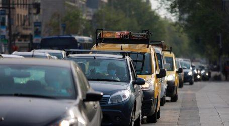 Gran Santiago presenta aumentos progresivos en su movilidad