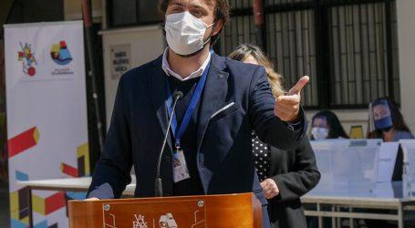 """Jorge Sharp va por la reelección defendiendo su gestión: """"Hemos avanzado"""""""