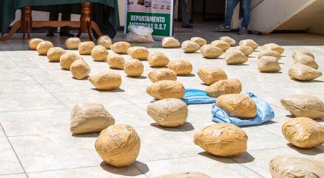 Detienen a ciudadano boliviano con más 152 kilos de droga en Calama