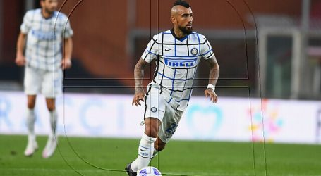 Champions: Inter rescata empate ante Shaktar Donetsk con Vidal en gran forma