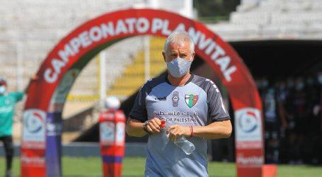 Ivo Basay dejó de ser el entrenador de Palestino