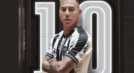 Atlético Mineiro reveló que Eduardo Vargas usará la camiseta número '10'