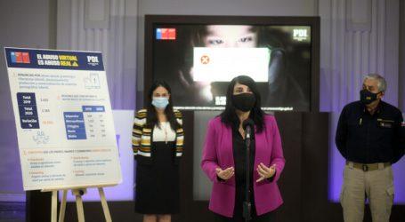 Gobierno y la PDI lanzan campaña de prevención del ciberabuso infantil