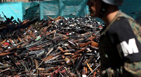 Destruyen más de 18 mil armas de fuego tras decomisos y entregas voluntarias