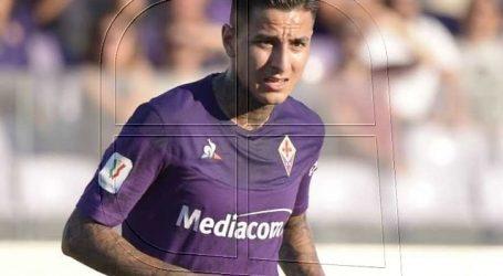 Erick Pulgar fue titular en agónico empate de la Fiorentina