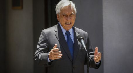 """Piñera plantea """"no bajar la guardia"""" ante eventual segunda ola de contagios"""