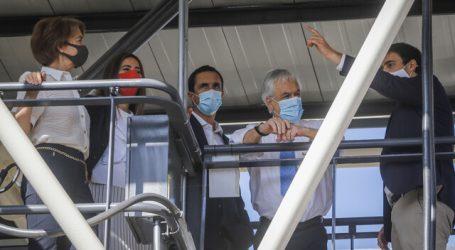 Presidente Piñera dio inicio al mayor electroterminal de Chile en Maipú