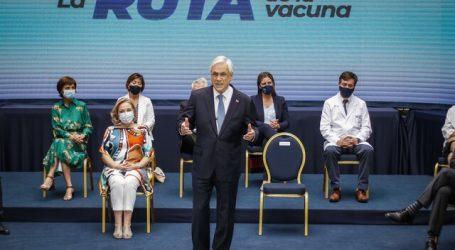Piñera anuncia 20 millones de dosis de vacunas para el primer semestre de 2021