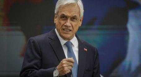 Presidente Piñera visitó centro de almacenamiento y distribución de vacunas