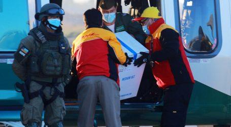 Vacunas contra el Covid-19 llegaron a la región de Magallanes