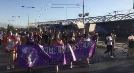 Realizan marcha en La Florida por femicidio de María Isabel Pavez