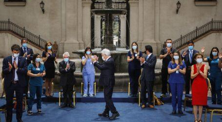 Piñera anuncia promulgación de bono para personal de la salud por pandemia
