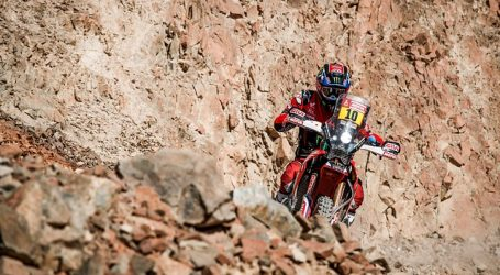 Dakar: Cornejo abandonó la carrera tras sufrir una caída en la décima etapa