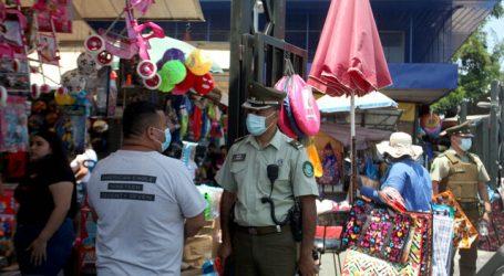 Carabineros detuvo a 3 personas por balacera en el barrio Meiggs de Santiago