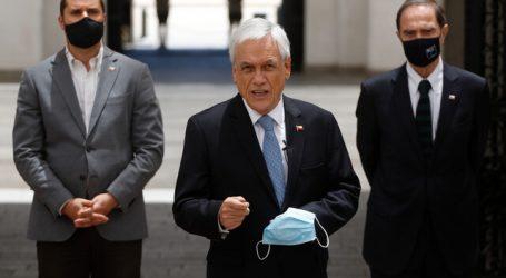 """Presidente Piñera cuestiona proyecto """"anti-represión"""" del Frente Amplio"""