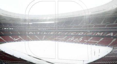 Duelo entre Atlético Madrid y Athletic Bilbao fue suspendido por fuerte nevazón