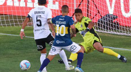 Colo Colo derrotó con lo justo a Everton y sale de la zona de peligro
