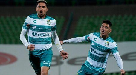 México: Diego Valdés fue titular en victoria de Santos Laguna