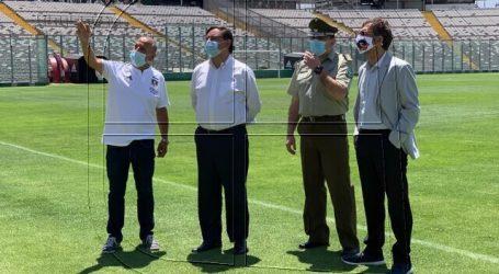 Autoridades supervisaron medidas sanitarias en el Estadio Monumental