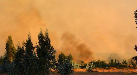 Declaran Alerta Roja para la comuna de La Estrella por incendio forestal