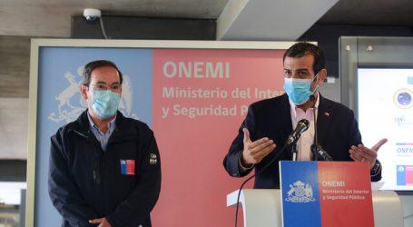 ONEMI realizó un nuevo balance por sistema frontal en zona centro-sur del país