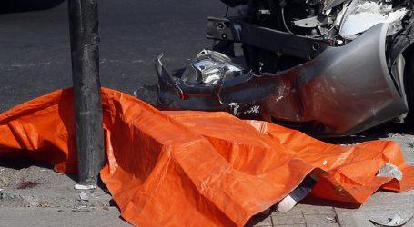 Tres personas murieron en accidentes de tránsito registrados en Santiago