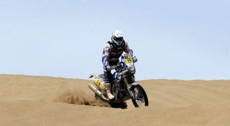 """Benavides: """"feliz por ser el primer sudamericano en ganar el Dakar"""" en motos"""