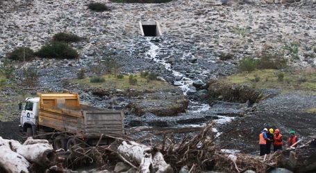 MOP supervisa obras en la Quebrada de Macul por anuncio de lluvias