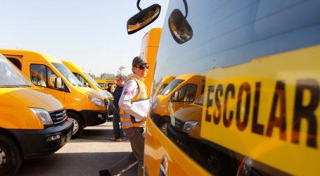 Lanzan plan de seguridad sanitaria para la operación del transporte escolar