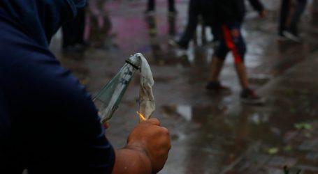 Absuelven por falta de pruebas a acusado por uso de molotov en Providencia