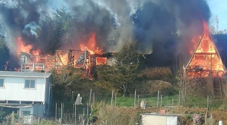 Nuevos ataques incendiarios se registraron en la provincia de Arauco