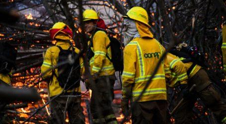 Declaran Alerta Roja en Lumaco y Galvarino por incendios forestales