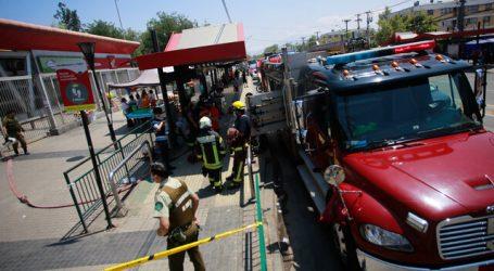 Evacuan estación Pudahuel de la Línea 5 del Metro de Santiago