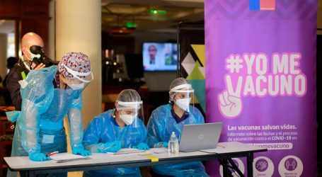 Comenzó proceso de vacunación de funcionarios de Residencias Sanitarias