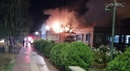 Prisión preventiva para acusado por incendio en Municipalidad de Villarrica