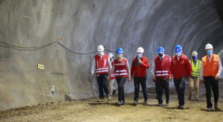 Ministro de Hacienda destacó trabajos de extensión de la Línea 3 del Metro