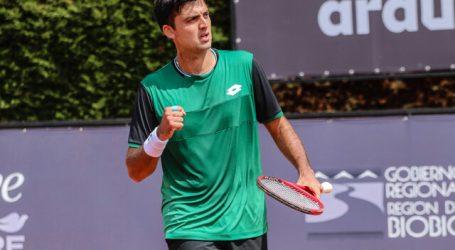 Tenis: Tomás Barrios avanzó a segunda ronda en la qualy del ATP de Córdoba