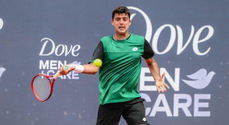 Tenis: Tomás Barrios se despidió de entrada en el 'main draw' del ATP de Córdoba