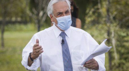"""Situación en Araucanía: Piñera pidió a fuerzas políticas """"colaborar de verdad"""""""
